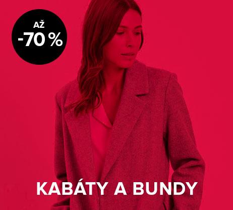 Až 70% sleva na dámské kabáty a bundy