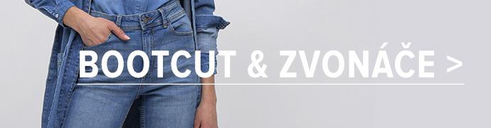 Bootcut a zvonové džíny