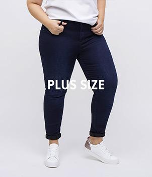 Plus size džíny