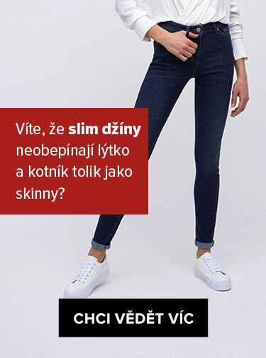 Průvodce střihem džínů - Slim džíny