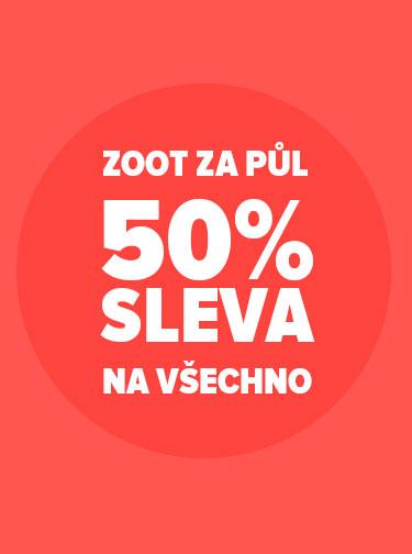 50% sleva na široširý ZOOT