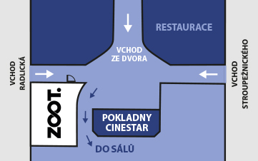 Praha - Výdejna radosti Anděl